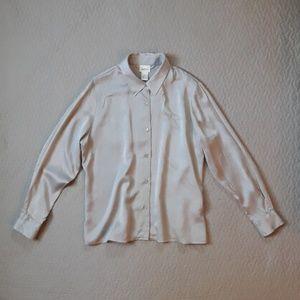 Vintage Neiman Marcus 100% silk top size 14